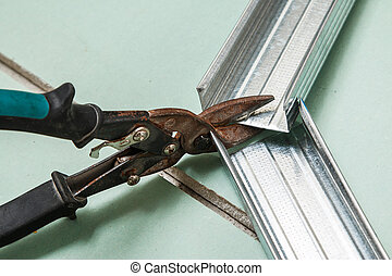 剪刀, 为, 金属