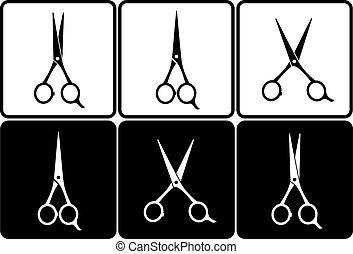 剪刀, 集合