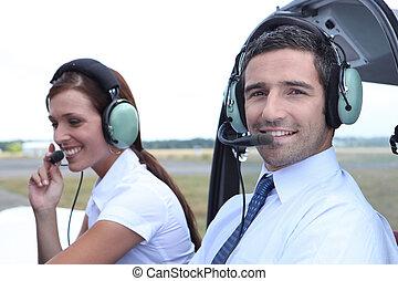 副操縦士, 航空会社パイロット