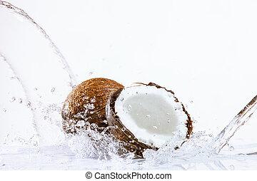 割れた, ココナッツ