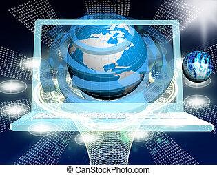 創新, 計算机聯系, 技術