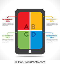 創造性, 片劑, info-graphics