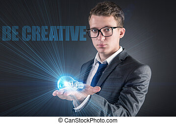 創造的, 概念, 若者, 考え
