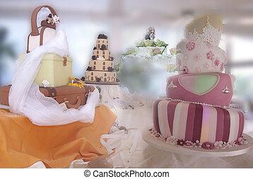 創造的, 結婚式のケーキ