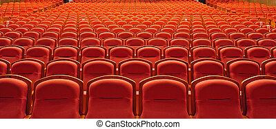 劇場の 座席
