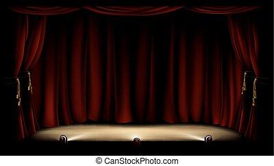 劇場, ステージ