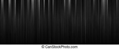 劇場, スペース, 黒い背景, カーテン, コピー, ステージ
