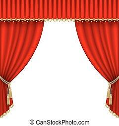 劇場, stage., mesh.