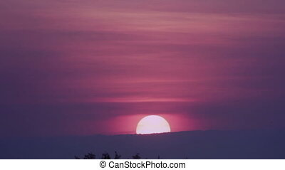劇的, 日の出