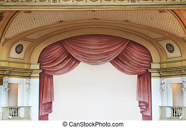 劇院, 背景