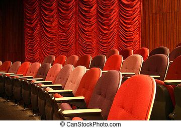劇院, seatings