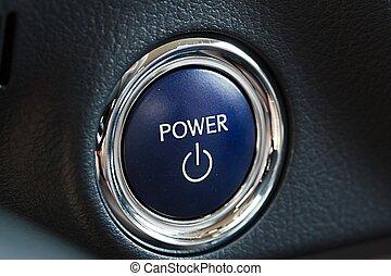 力量按鈕, ......的, a, 汽車