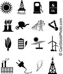力量 和 能量, 圖象, 集合