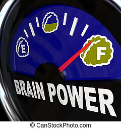 力量, 智力, 措施, 创造性, 脑子, 量规