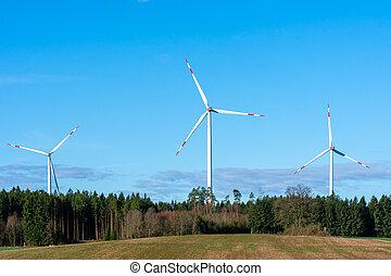 力, 代替エネルギー, 風