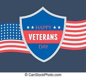 力, 幸せ, 旗, アメリカ人, 軍, 私達, 武装させられた, 日, 兵士, レタリング, ベテラン, 保護