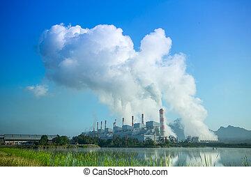力, 石炭を燃料とするプラント