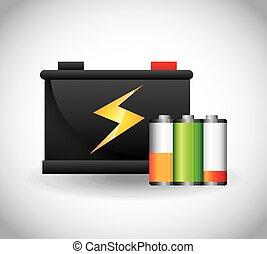 力, 電池
