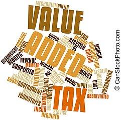 加えられた, 税, 値