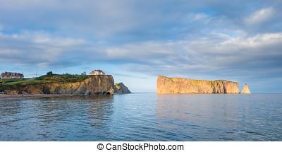 加拿大, 著名, 岩石,  Perce, 刺穿