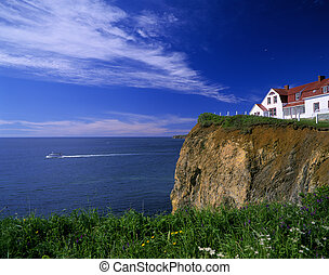加拿大, 魁北克,  Perce, 岩石