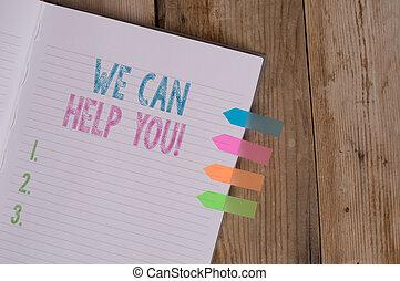 助け, テキスト, 私達, 印, 4, 援助, メモ, バックグラウンド。, 本, 写真, 概念, メモ, you., 顧客, よい, 提供, 提示, しまのある, 友人, 有色人種, 木製である, 缶, 矢, 旗, ∥あるいは∥