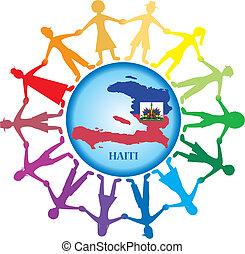 助け, ハイチ, 2