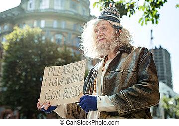 助け, 人々, 通り, 請求, ホームレスである, (どれ・何・誰)も, 人