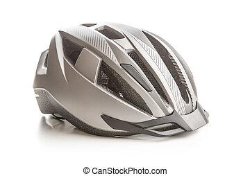 努力, 自行车, helmet.