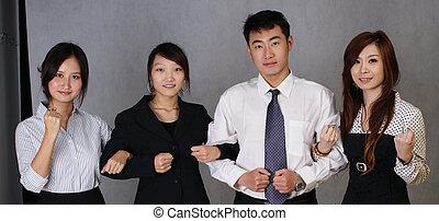 励ましなさい, ビジネスマン, 中国語, それぞれ