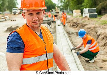 労働者, 安全, 建設, ベスト