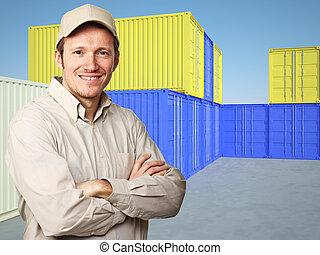 労働者, 容器