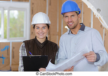 労働者, 建築現場