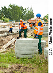 労働者, 建設, サイト