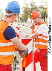 労働者, 建設, 安全, ユニフォーム