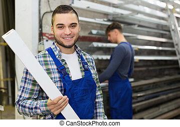 労働者, 生産, 別, pvc