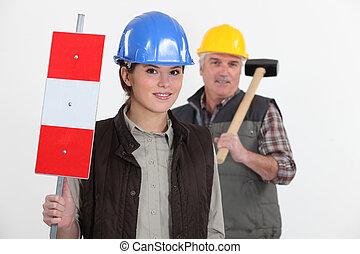 労働者, 2, 道