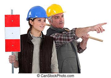 労働者, 2, 道 印
