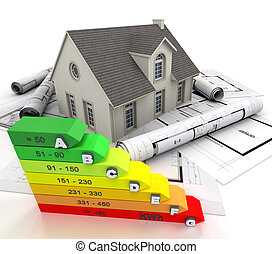 効率的である, 家, エネルギー