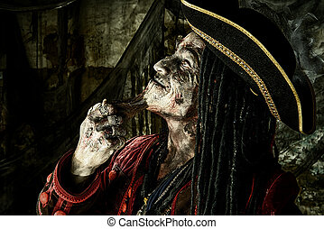 勇士, 海賊, 死んだ