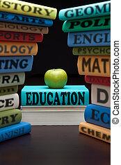 勉強しなさい, 教育, 本, アップル