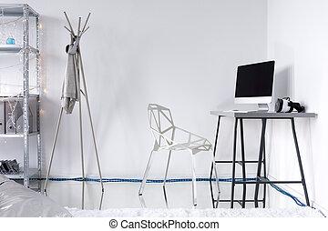 勉強しなさい, minimalistic, 考え, 部屋