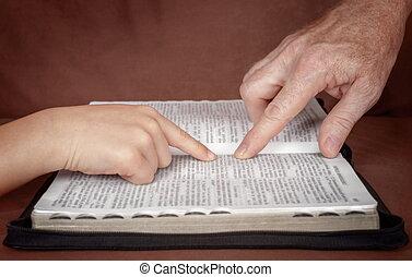 勉強, 単語, 神