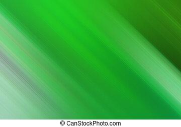 動きぼやけ, 緑