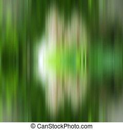 動き, 抽象的, 緑, image., ぼやけ