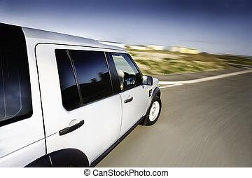 動き, 自動車, 4x4