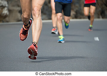 動くこと, レース, マラソン