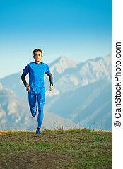 動くこと, 山, 訓練, 運動選手, 専門家