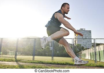 動くこと, 運動選手, 若い