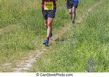 動くこと, 運動選手, 2, マラソン, 屋外で